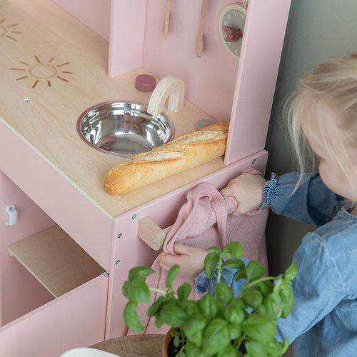 Little Dutch Little Dutch | Houten speelkeuken | Roze