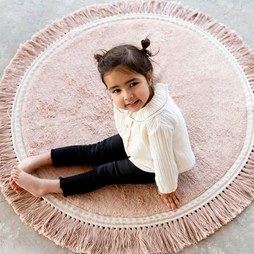 Tapis Petit Tapis Petit vloerkleed kinderkamer Anna soft pink