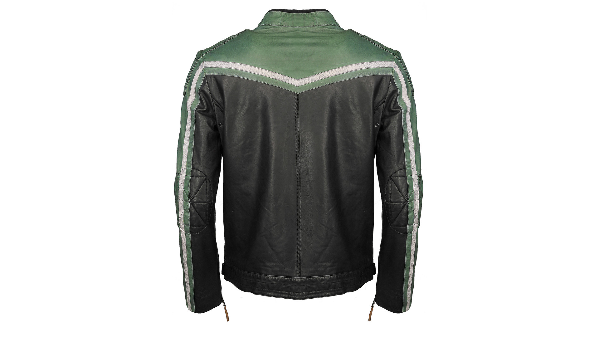 Top Gun TG-1005 Racing jacket black/green/cream