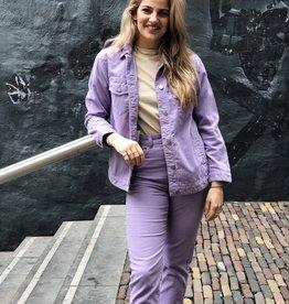 Dr Denim Women Larissa Jacket Lavender Cord