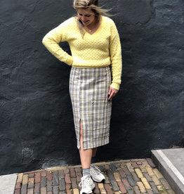 Make My Day Pencil Skirt Check