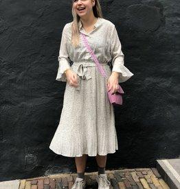 Make My Day Midi Dress Pleats