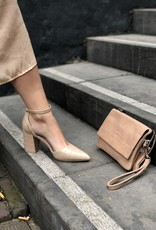 Make My Day Make My Day Croc Pump Nude
