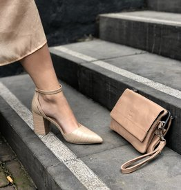 Make My Day Croc Pump Nude