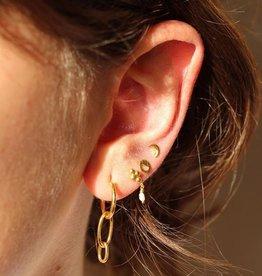 Xzota Earring Lovelace Gold/Silver