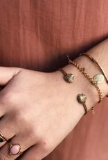 2 The Moon 'n Back 2 The Moon 'n Back Bracelet Charm Gold