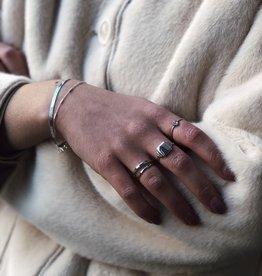 Xzota Bracelet Flat Snake Gold/Silver