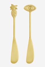 Madam Stoltz Madam Stoltz Brass Butter Knife