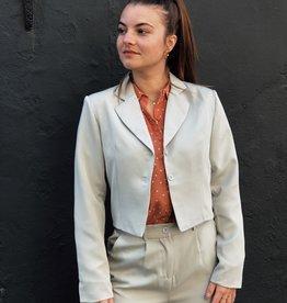 Make My Day Short Blazer Suit