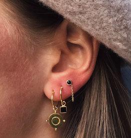 Xzota Earring Joan Gold/Silver
