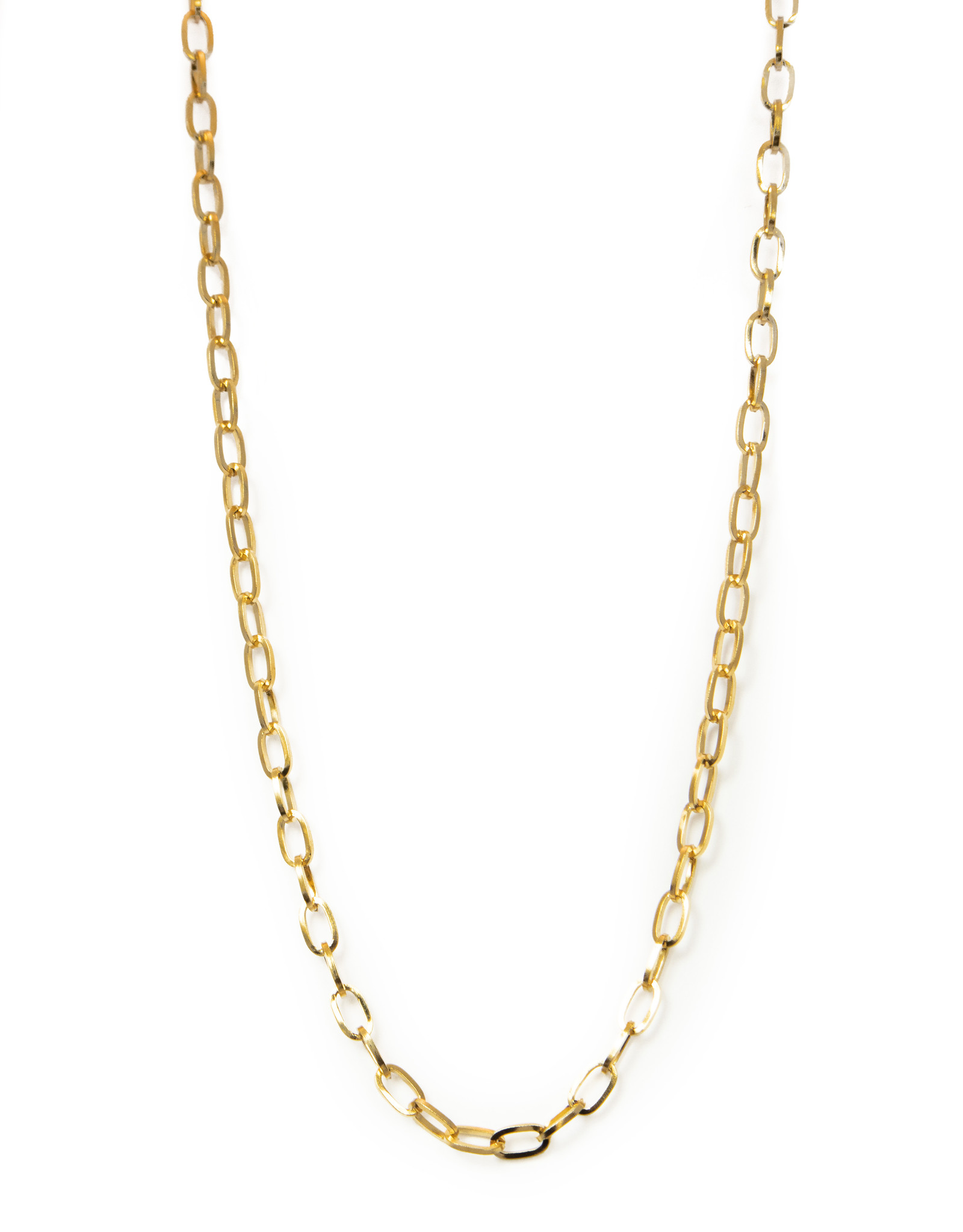 2 The Moon 'n Back 2 The Moon 'n Back Necklace Big Chain Basic Gold