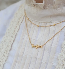 All the Luck in the World Necklace Urban Bonjour Gold/Silver