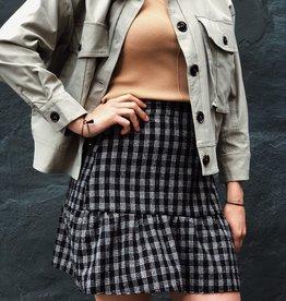 Make My Day Mini Skirt Check