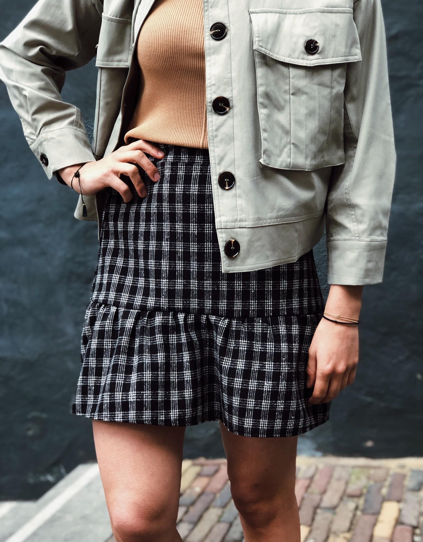 Make My Day Make My Day Mini Skirt Check