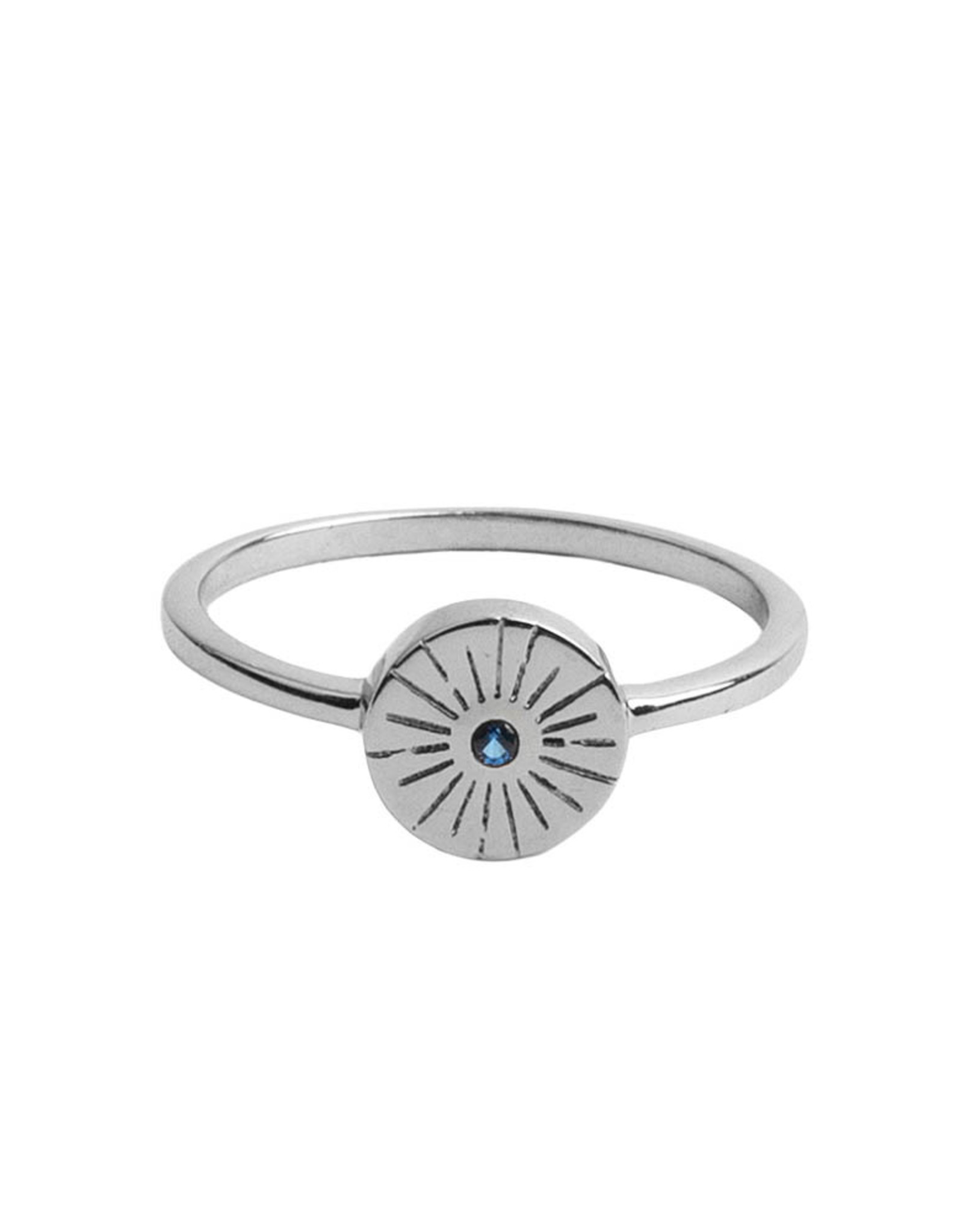 All the Luck in the World All the Luck in the World Ring Mag Coin Starb/Blue Silver