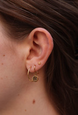 All the Luck in the World All the Luck in the World Earring Character Gold/Silver