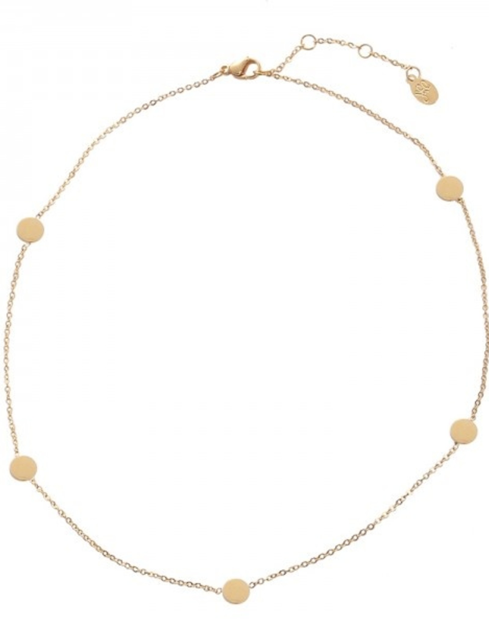 Make My Day Make My Day Necklace Gold Short