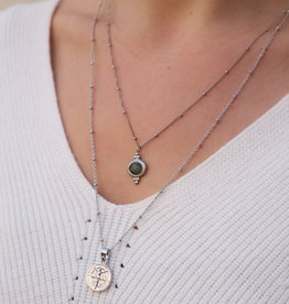 Make My Day Necklace Deluxe Silver