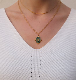 Make My Day Necklace Deluxe Gold