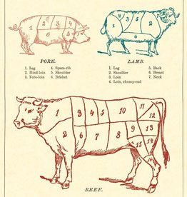 Cavallini The butcher's guide MEAL