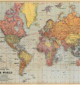 Cavallini World map MAPWRD