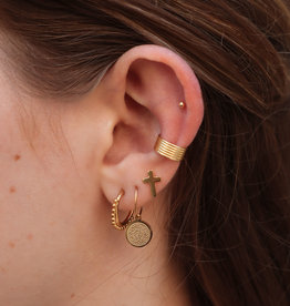 Make My Day Earring Party #1 Gold/Silver