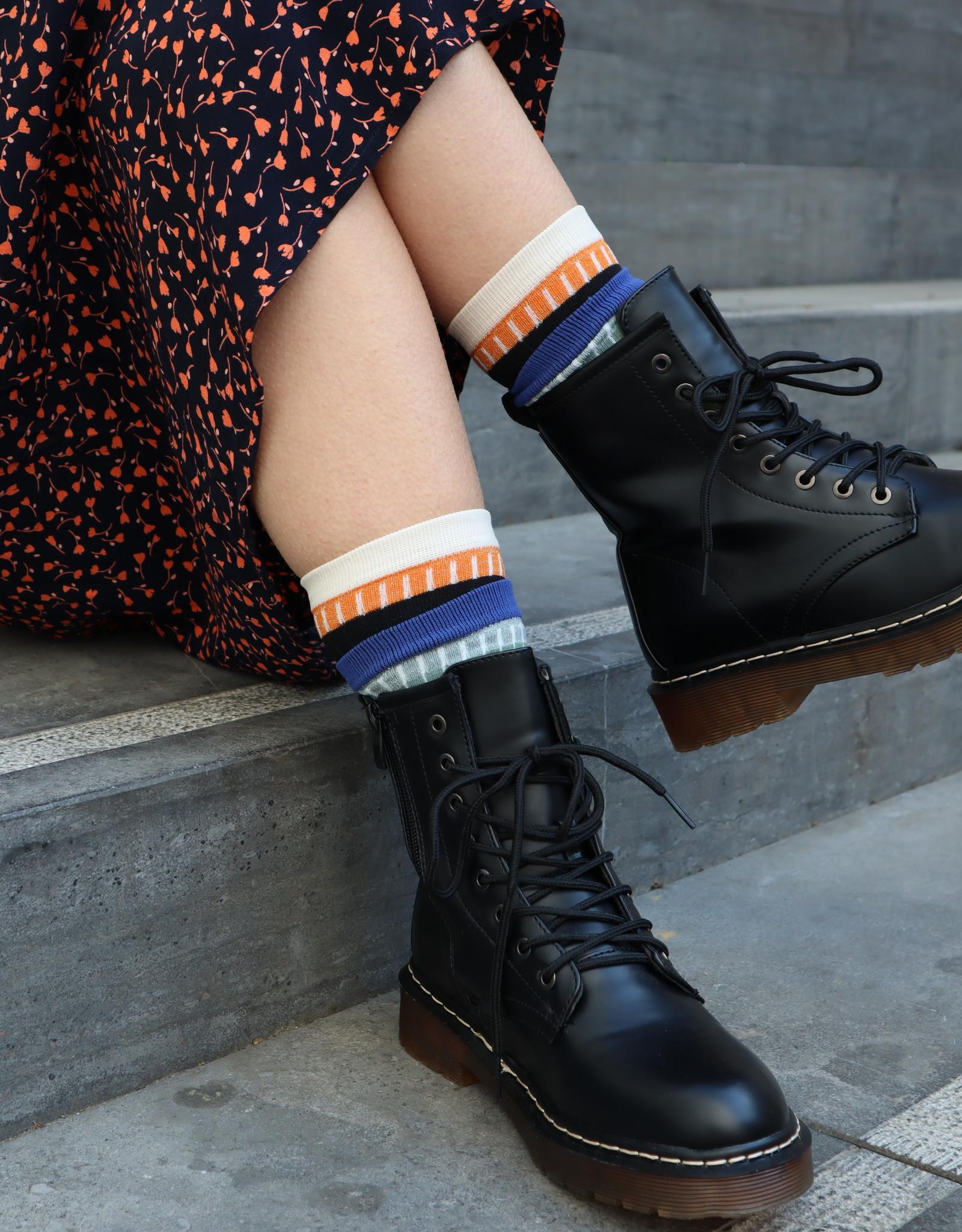 Make My Day Make My Day Combat boots Black