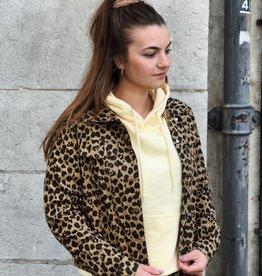 Never Fully Dressed Oscar Leopard Jacket