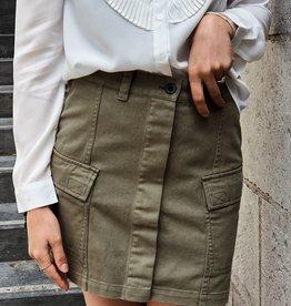 Dr Denim Women Lo Skirt Light Emerald