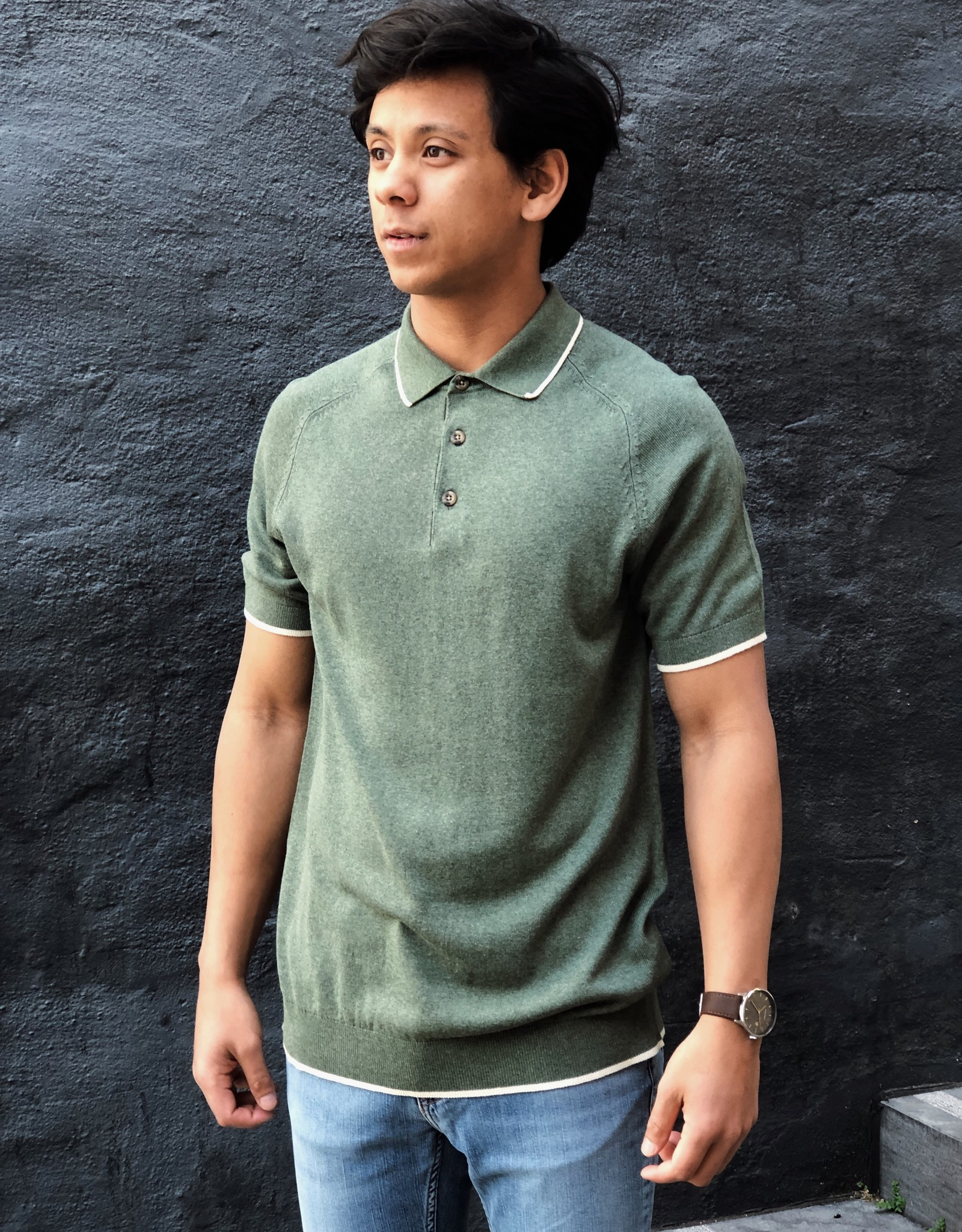 Selected Homme Selected Homme Moon SS Polo 73242
