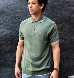 Selected Homme Moon SS Polo 73242