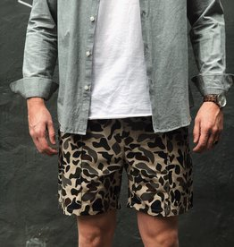 Woodbird Hansi Camo Shorts