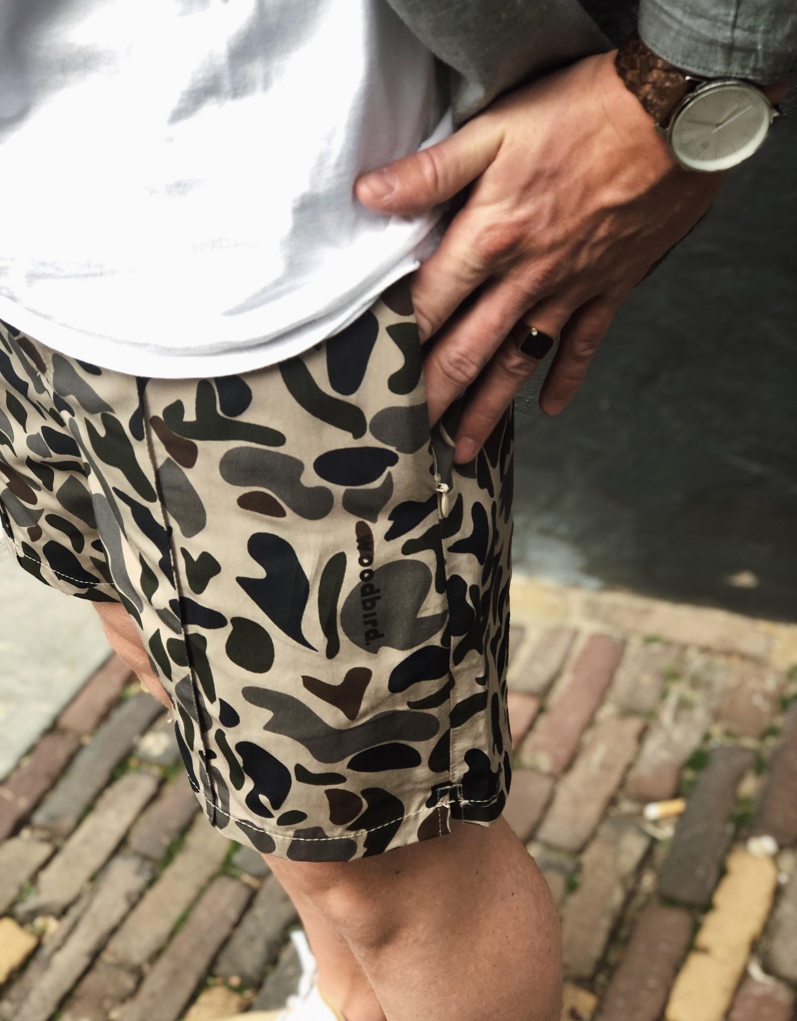 Woodbird Woodbird Hansi Camo Shorts