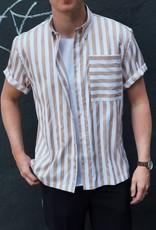 Woodbird Woodbird Zung Ho Stripe Shirt