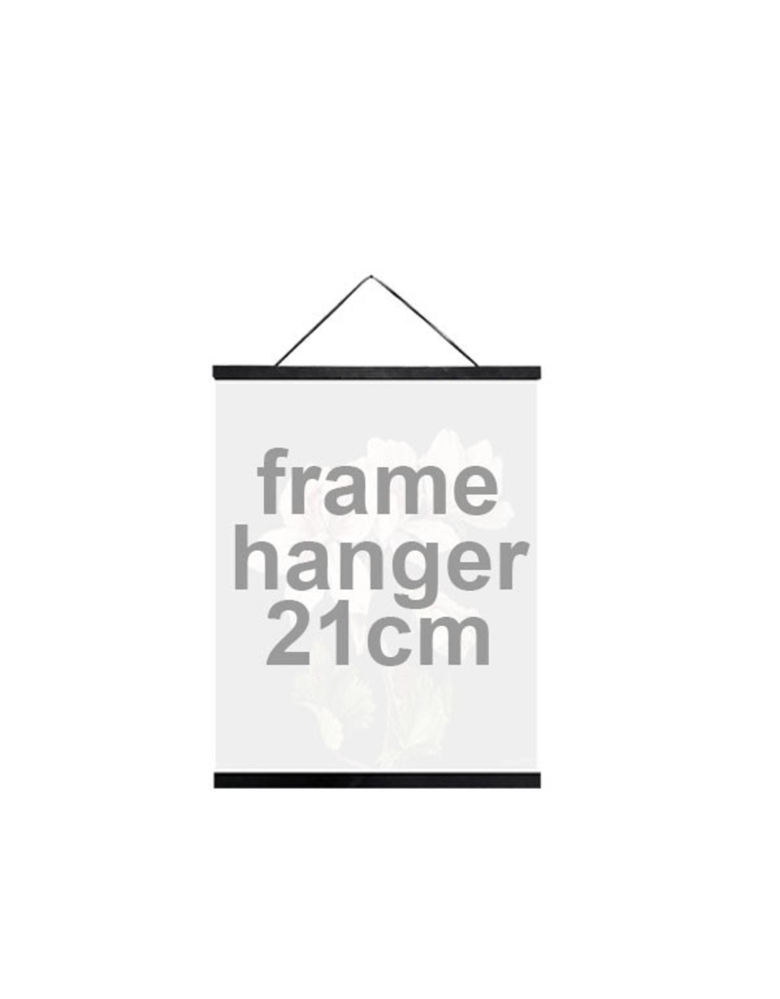Vanilla Fly Vanilla Fly- Posterhanger 21cm Black