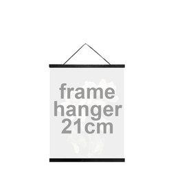 Vanilla Fly Posterhanger 21cm Black