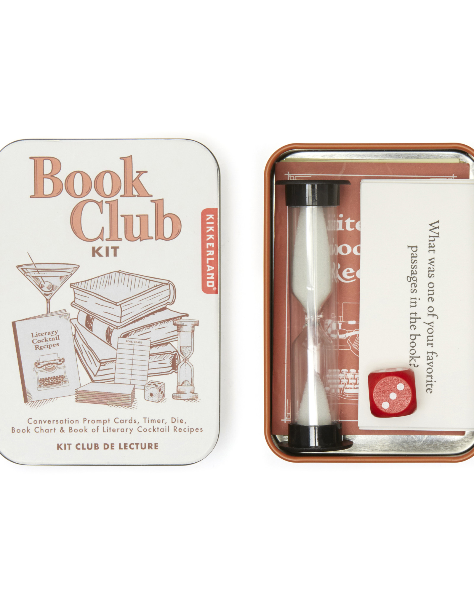 Kikkerland KL-Book Club Kit