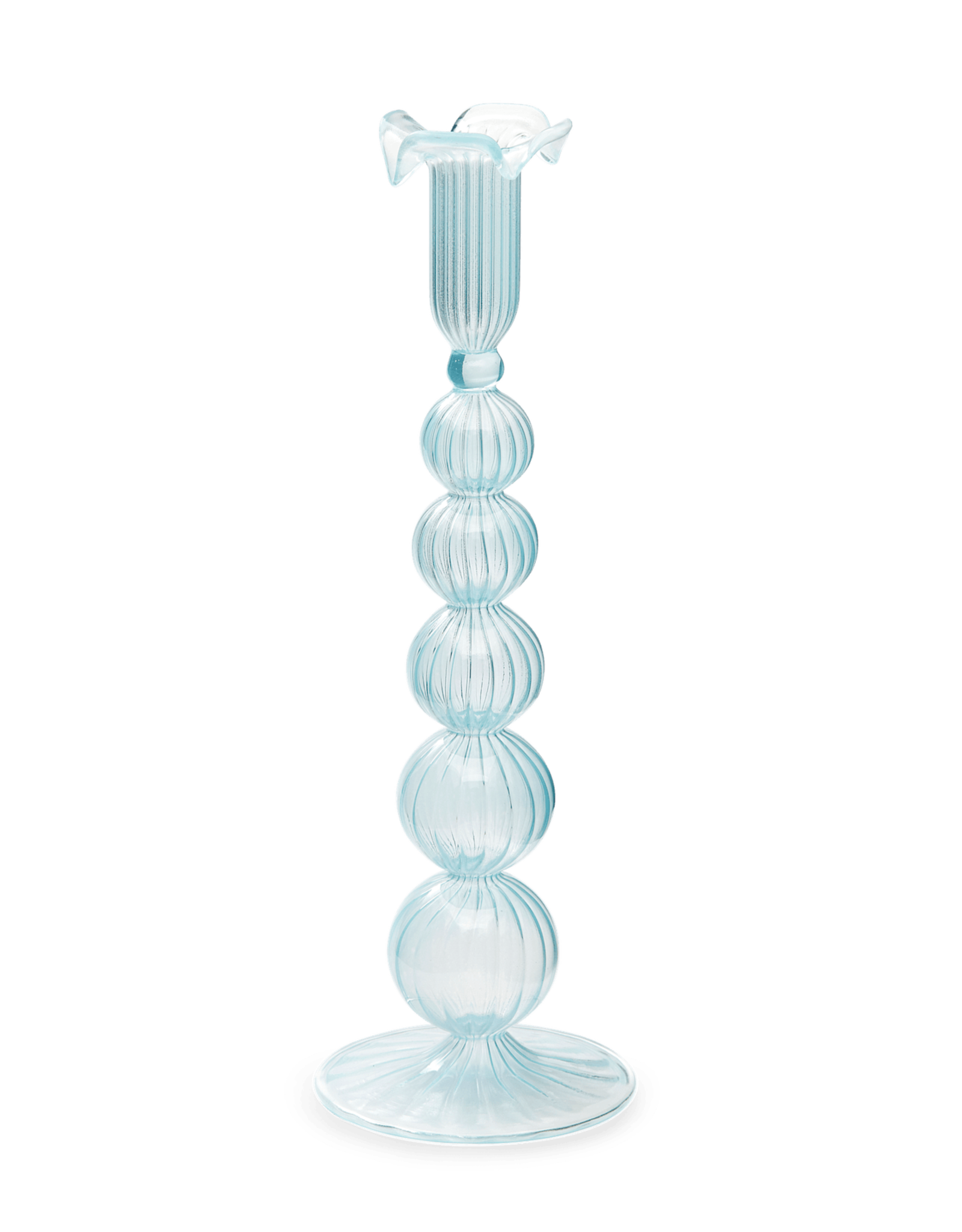 Anna+Nina SS21-A+N-Cloudy Glass Candle Holder