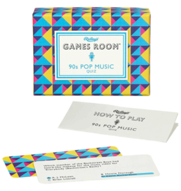 Games Room Spel - 90's Pop Music Quiz