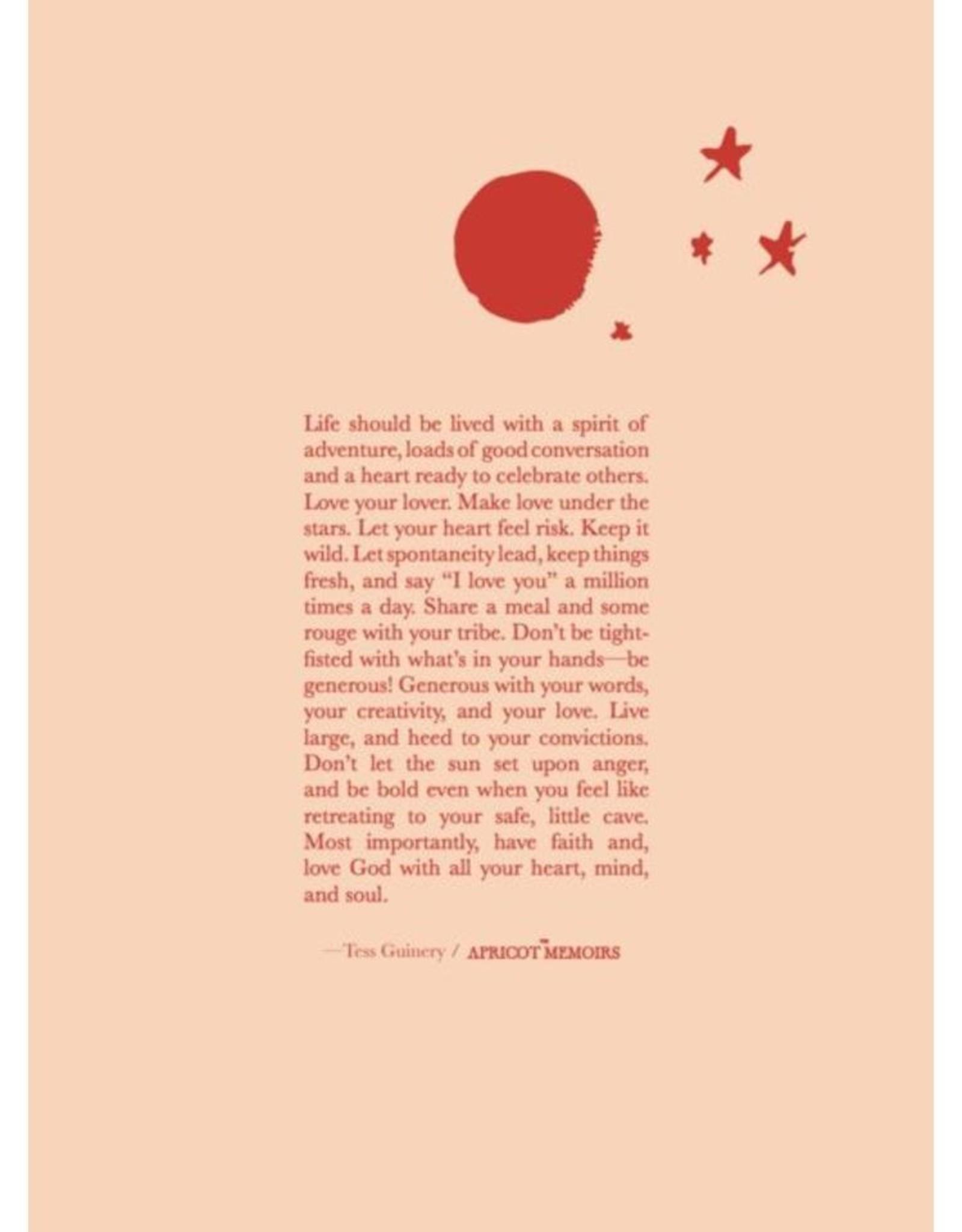 Tess Guinery TESS- The Apricot Memoirs
