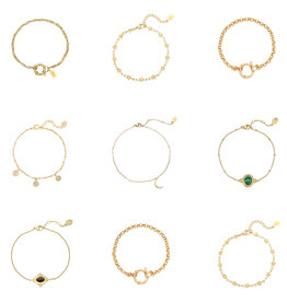 Make My Day Jewellery - Bracelet Gold