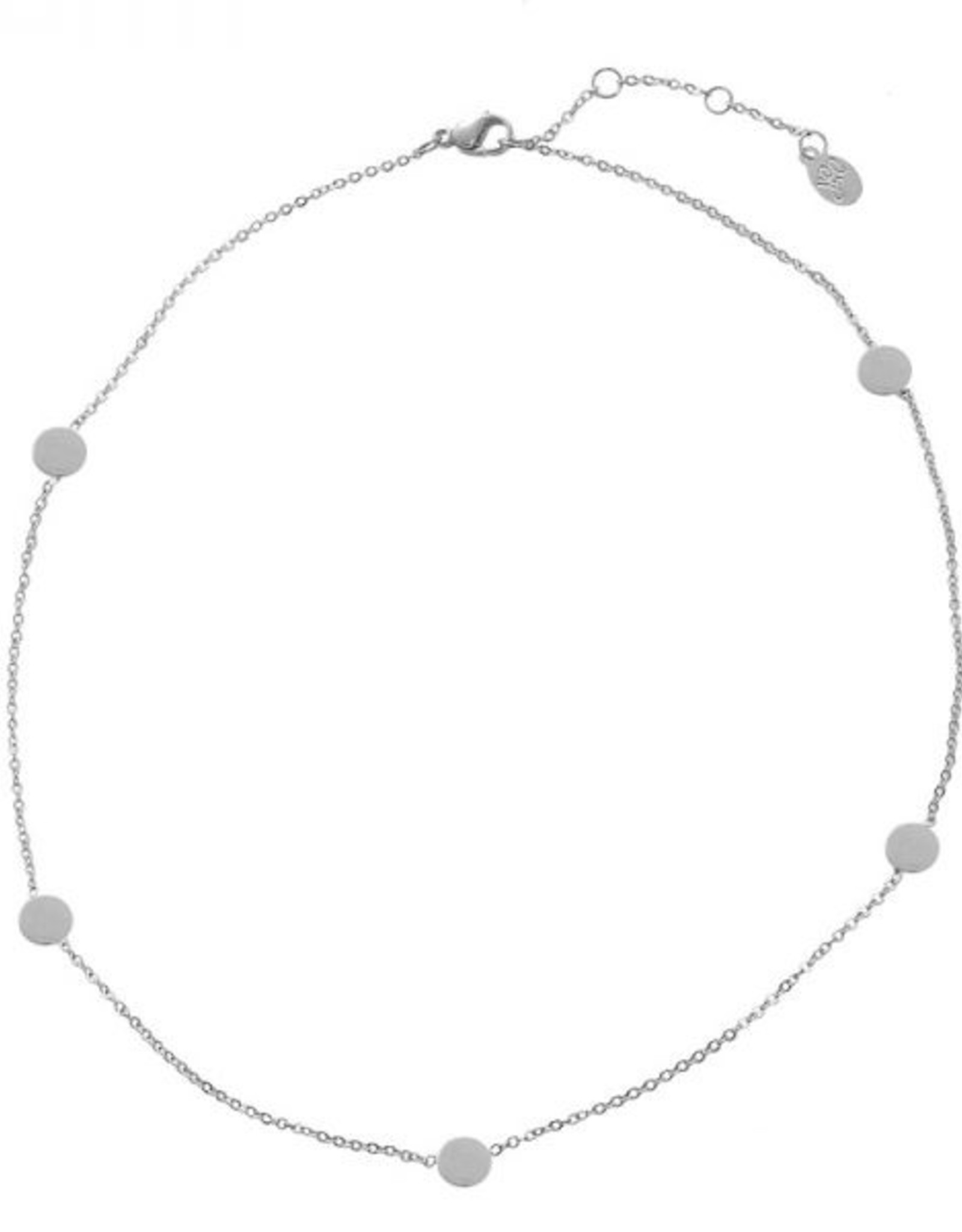 Make My Day MMD-Necklace Short Silver