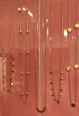 Make My Day MMD-Necklace Short Gold