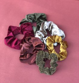 Make My Day Scrunchie (Meerdere kleuren)