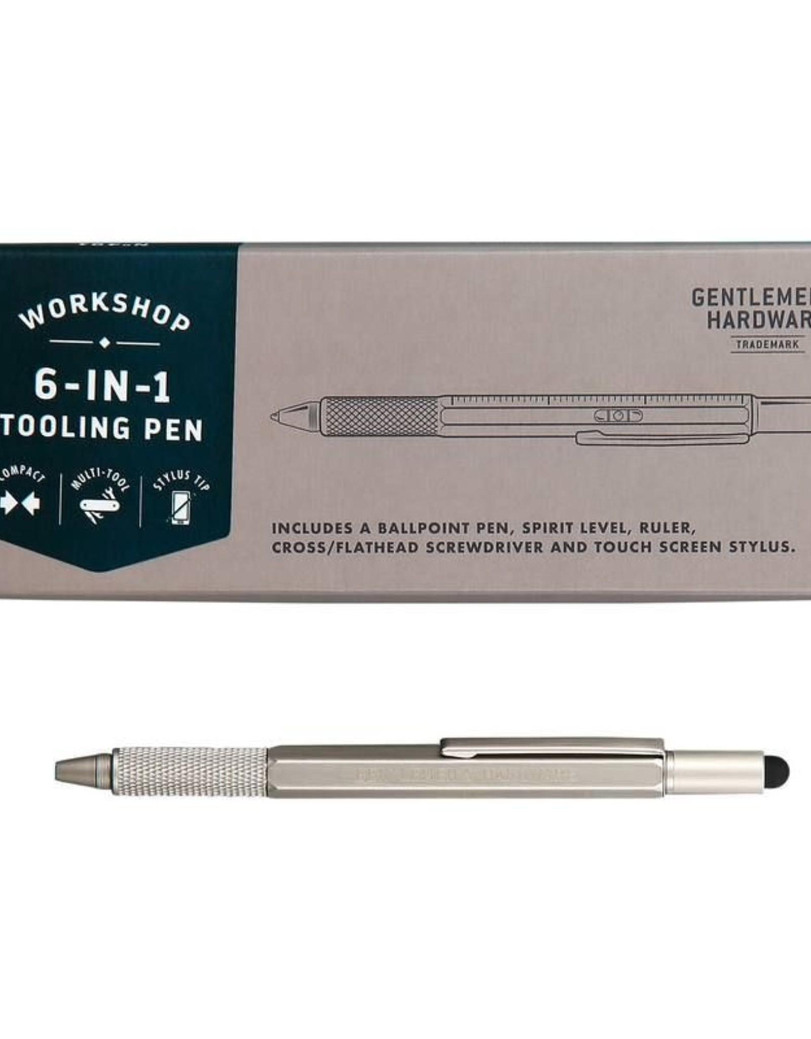 Gentlemen's Hardware Cortina-6 in 1 Tooling Pen
