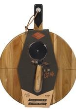 Gentlemen's Hardware Cortina-PIzza Cutter & Serving Board