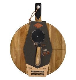 Gentlemen's Hardware Gifts - Pizza Cutter & Serving Board