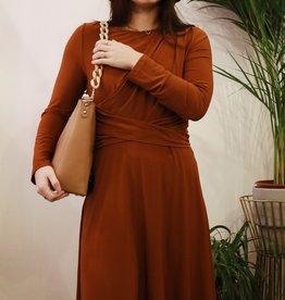 Make My Day MMD- Draped Dress (Meerdere kleuren)