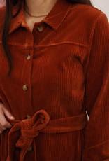 Moss Copenhagen Moss Copenhagen - Ibine Florina LS Shirt Dress