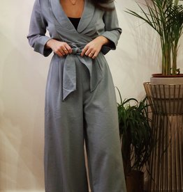 Make My Day MMD- Jumpsuit Wrap LS